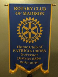 Pat's Rotary Club of Madison banner