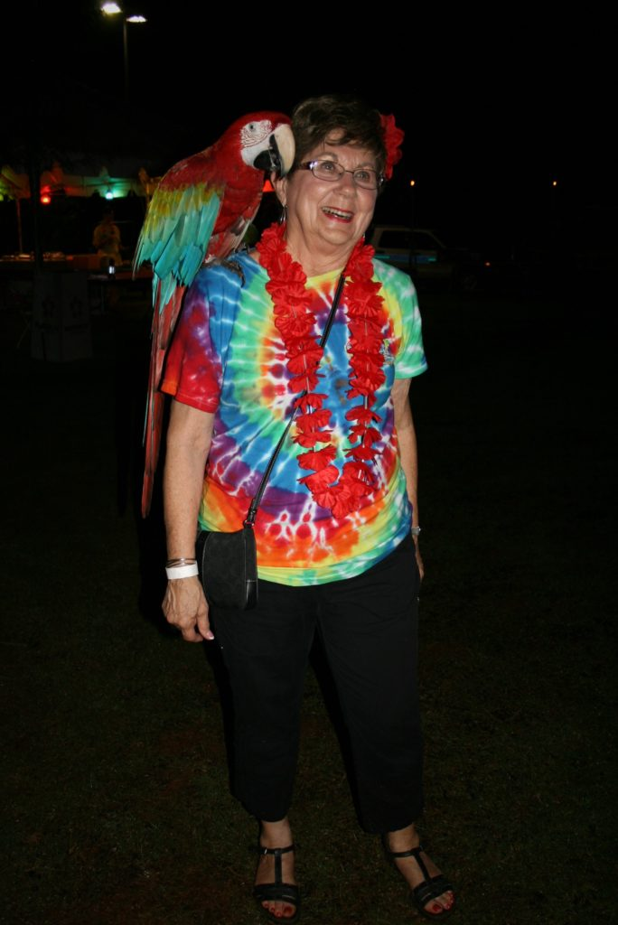 2015-2016 Rotary District 6860 Parrot Governor with Pat Cross